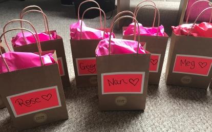 diy hen do gift bags kate stutter